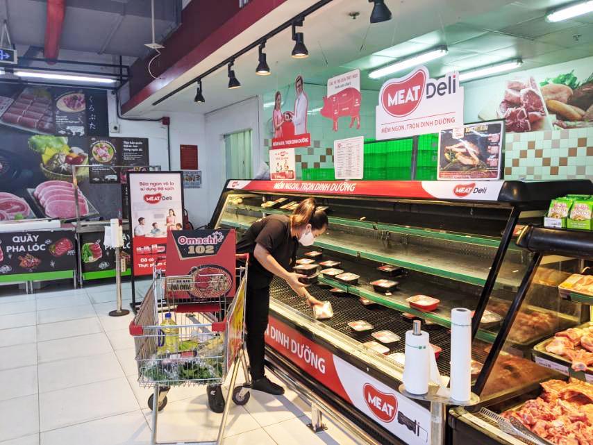 Sức mua Thịt heo sạch MEATDeli và GÀ TƯƠI 3F tăng đột biến trên toàn hệ thống VinMart/VinMart+ tại TP. HCM
