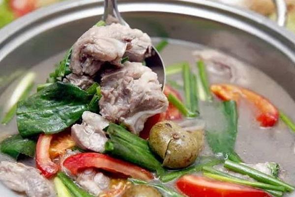 Những món canh ngon nấu cùng thịt mát
