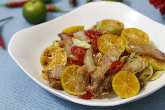 Chế biến 7 món ngon từ thịt lợn sạch hữu cơ