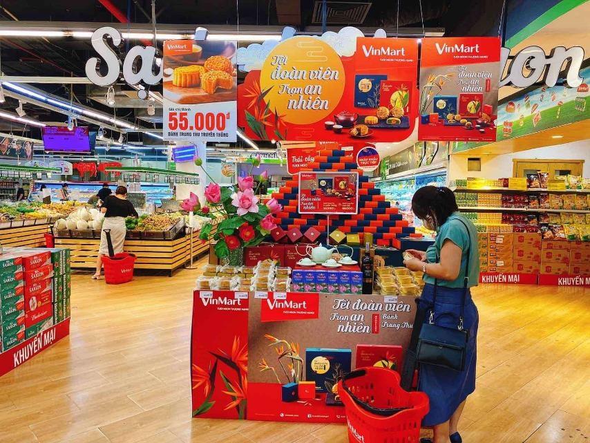giảm giá trong 'Tuần lễ hàng hóa thiết yếu' tại VinMart/VinMart+