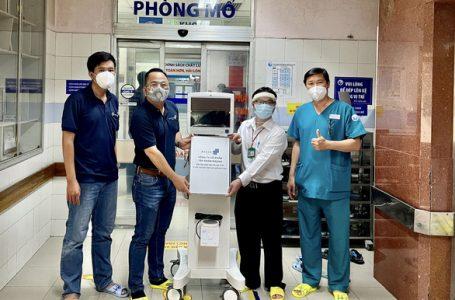 Masan đưa máy thở, đồ bảo hộ và kit xét nghiệm đến vùng tâm dịch