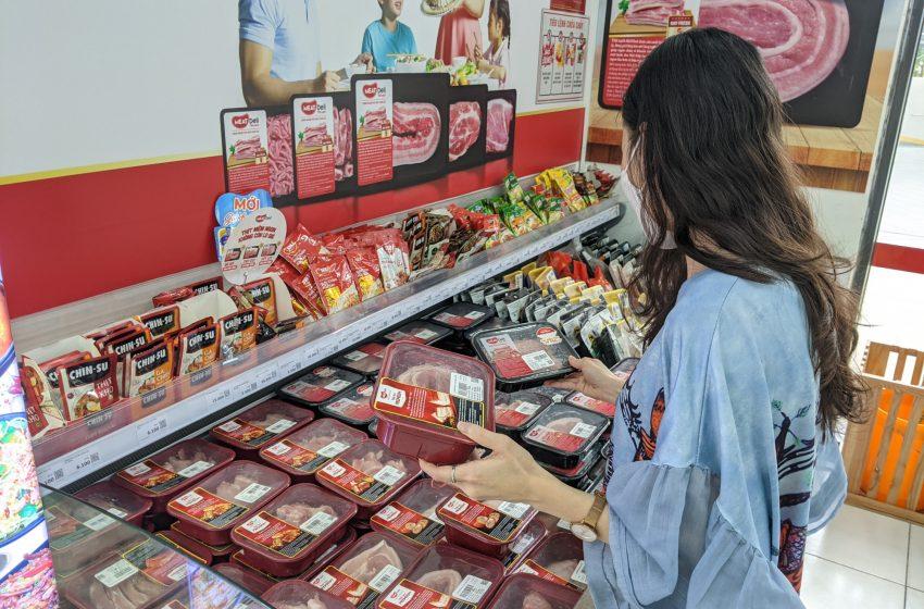 VinMart tăng cường thịt mát lên 4-5 lần phục vụ người dân Tp.HCM